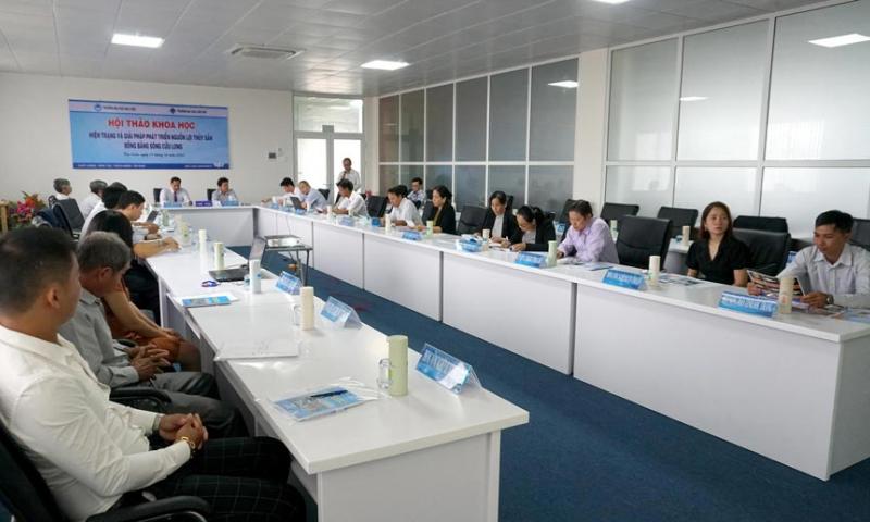 Hội thảo khoa học: Hiện trạng và giải pháp phát triển nguồn lợi thủy sản ở ĐBSCL