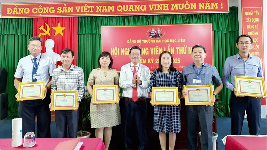 Đảng bộ Trường Đại học Bạc Liêu tổ chức Hội nghị Đảng viên lần thứ nhất, Nhiệm kỳ 2020 - 2025