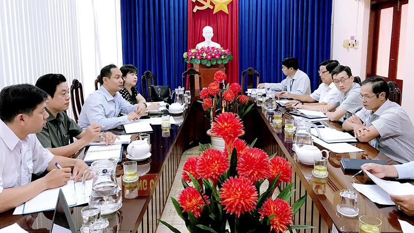 Trường Đại học Bạc Liêu làm việc với Sở Lao động Thương binh và Xã hội tỉnh Bạc Liêu