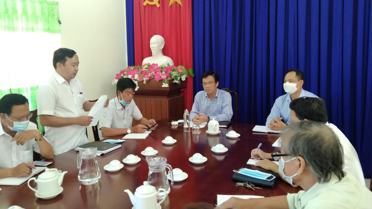 Đại biểu tham dự buổi làm việc
