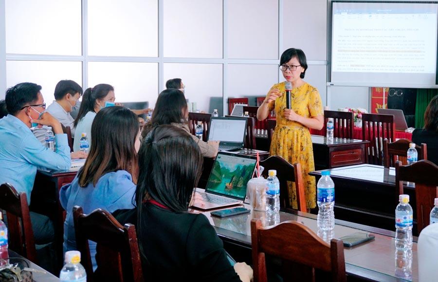 Trường Đại học Bạc Liêu tập huấn công tác tự đánh giá chương trình đào tạo
